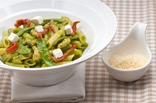 pasta penne pesto chicken and sundried tomatoes 02.jpg