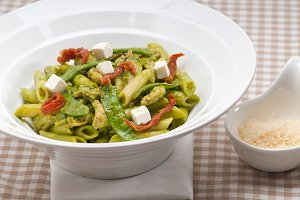 pasta penne pesto chicken and sundried tomatoes 03.jpg