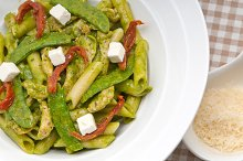 pasta penne pesto chicken and sundried tomatoes 06.jpg