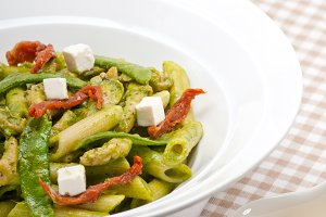 pasta penne pesto chicken and sundried tomatoes 11.jpg