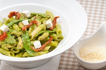 pasta penne pesto chicken and sundried tomatoes 16.jpg