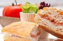 Parma ham cheese and tomato ciabatta sandwich 14.jpg
