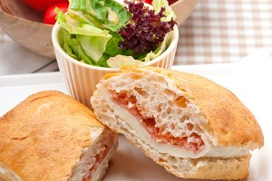 Parma ham cheese and tomato ciabatta sandwich 18.jpg