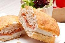 Parma ham cheese and tomato ciabatta sandwich 21.jpg