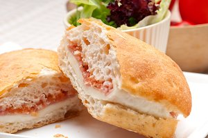 Parma ham cheese and tomato ciabatta sandwich 21.jpg
