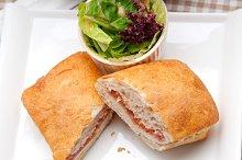Parma ham cheese and tomato ciabatta sandwich 22.jpg