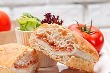 Parma ham cheese and tomato ciabatta sandwich 25.jpg