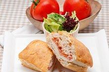 Parma ham cheese and tomato ciabatta sandwich 29.jpg