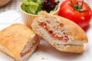 Parma ham cheese and tomato ciabatta sandwich 27.jpg