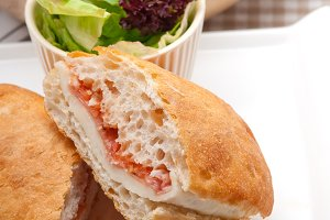 Parma ham cheese and tomato ciabatta sandwich 30.jpg