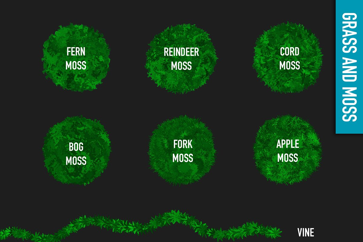 80 FOLIAGE BRUSHES FOR PROCREATE 5 in Add-Ons - product preview 2