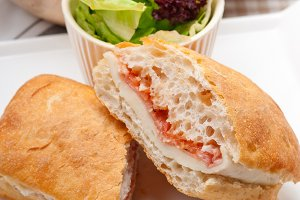 Parma ham cheese and tomato ciabatta sandwich 34.jpg
