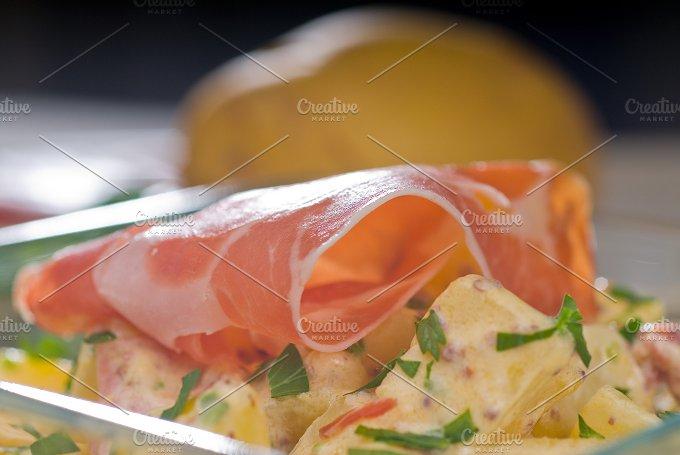 parma ham and potato salad 8.jpg - Food & Drink