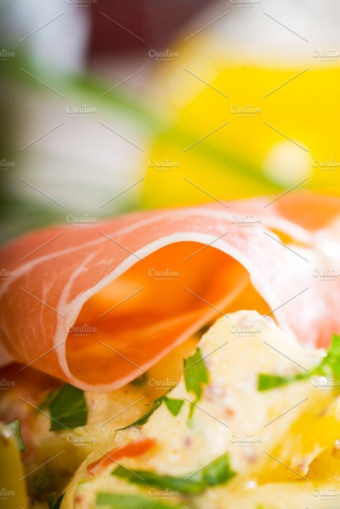 parma ham and potato salad 3.jpg - Food & Drink