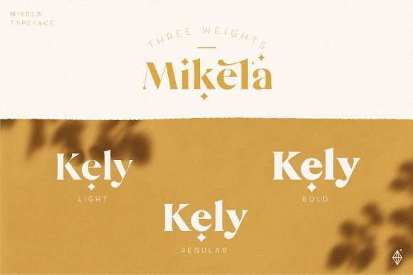 Mikela - 50% OFF Gorgeous Typefaces in Serif Fonts - product preview 21
