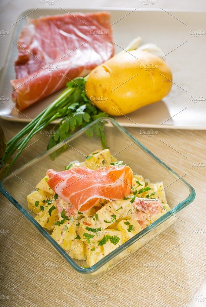 parma ham and potato salad 9.jpg - Food & Drink