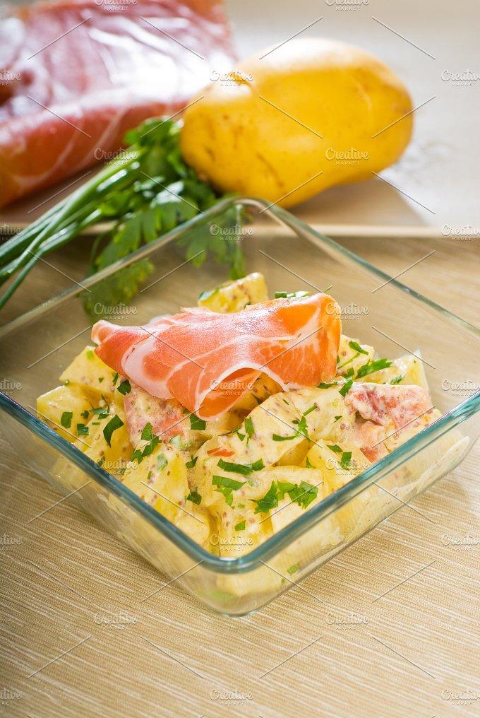 parma ham and potato salad 10.jpg - Food & Drink