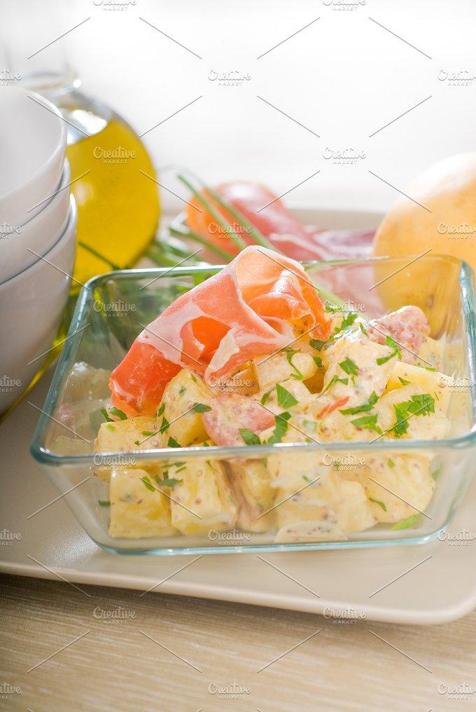 parma ham and potato salad 14.jpg - Food & Drink