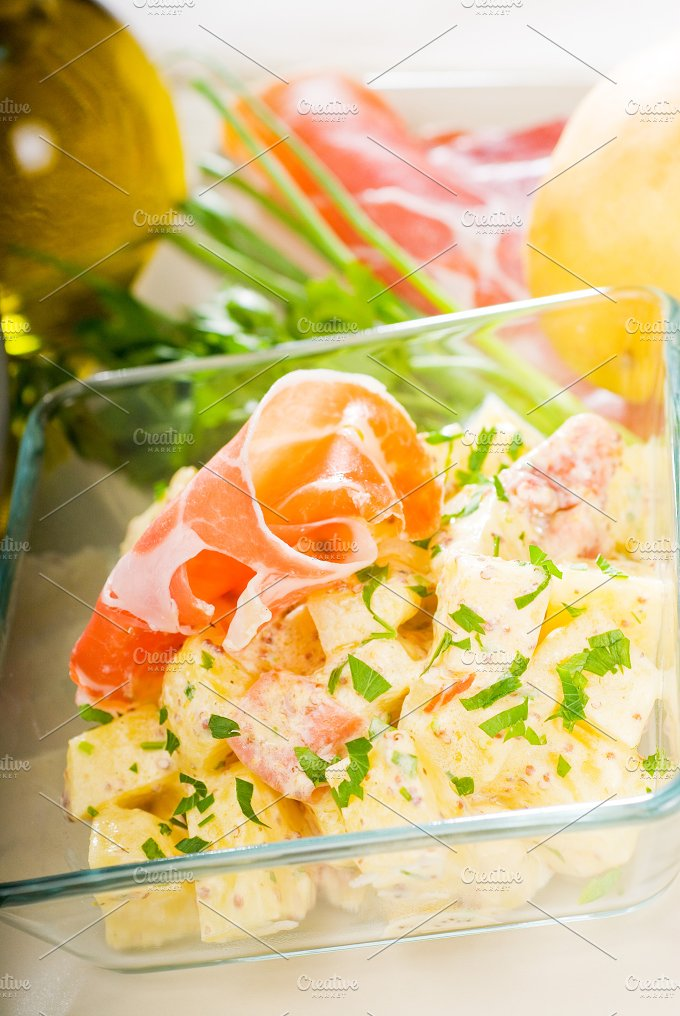 parma ham and potato salad 17.jpg - Food & Drink
