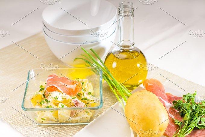 parma ham and potato salad 23.jpg - Food & Drink