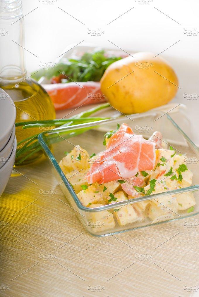 parma ham and potato salad 22.jpg - Food & Drink
