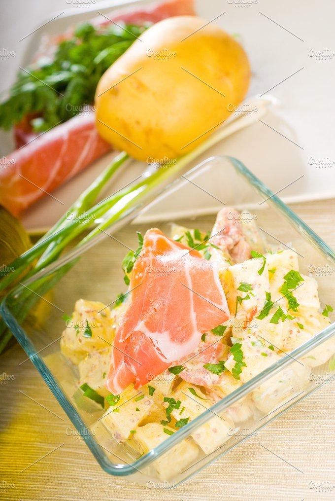 parma ham and potato salad 21.jpg - Food & Drink