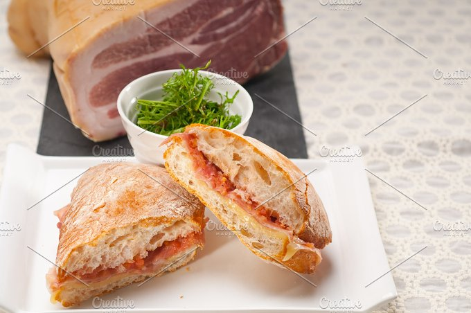 parma ham and cheese panini 05.jpg - Food & Drink