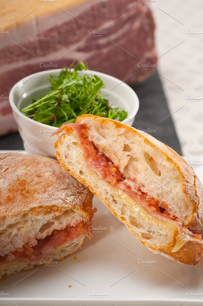 parma ham and cheese panini 03.jpg - Food & Drink