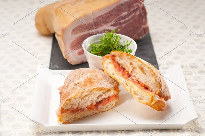 parma ham and cheese panini 16.jpg - Food & Drink