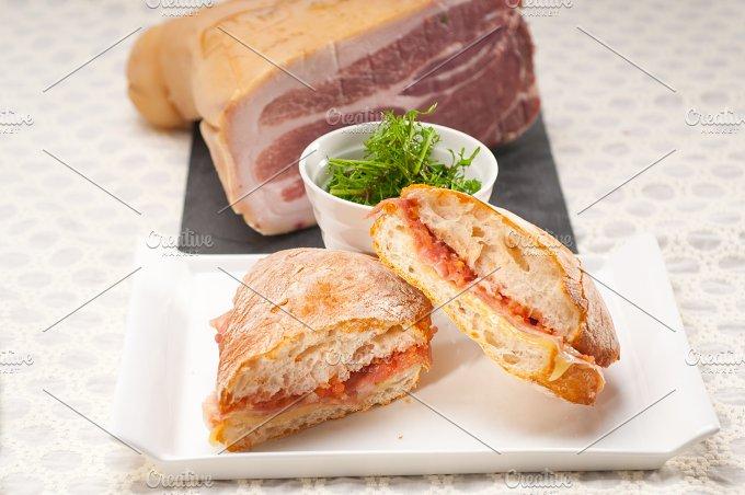 parma ham and cheese panini 16.jpg - Food & Drink