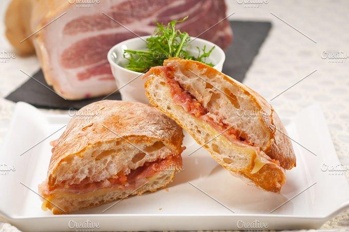 parma ham and cheese panini 17.jpg - Food & Drink