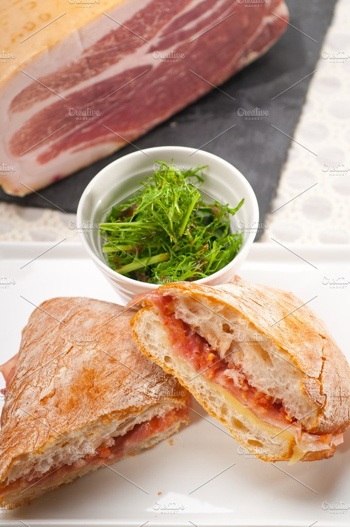 parma ham and cheese panini 19.jpg - Food & Drink
