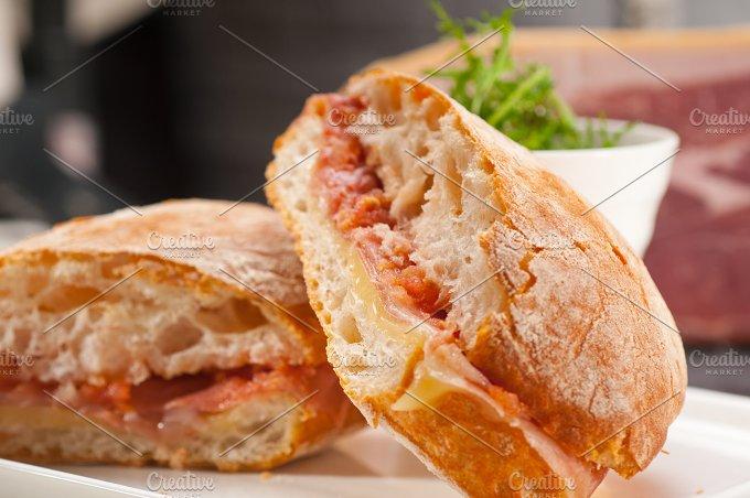 parma ham and cheese panini 21.jpg - Food & Drink