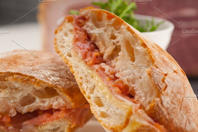 parma ham and cheese panini 22.jpg - Food & Drink