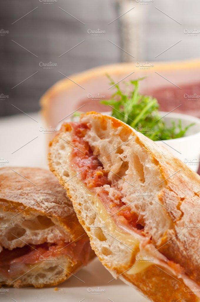 parma ham and cheese panini 23.jpg - Food & Drink