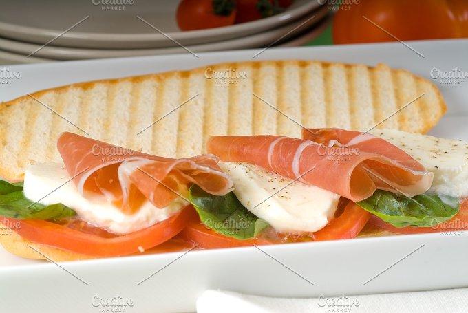 panini caprese and parma ham 8.jpg - Food & Drink