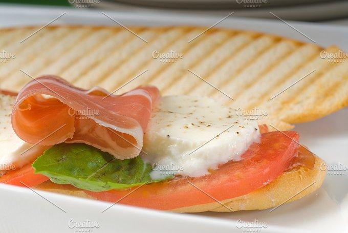panini caprese and parma ham 11.jpg - Food & Drink
