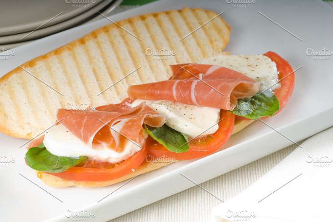 panini caprese and parma ham 12.jpg - Food & Drink