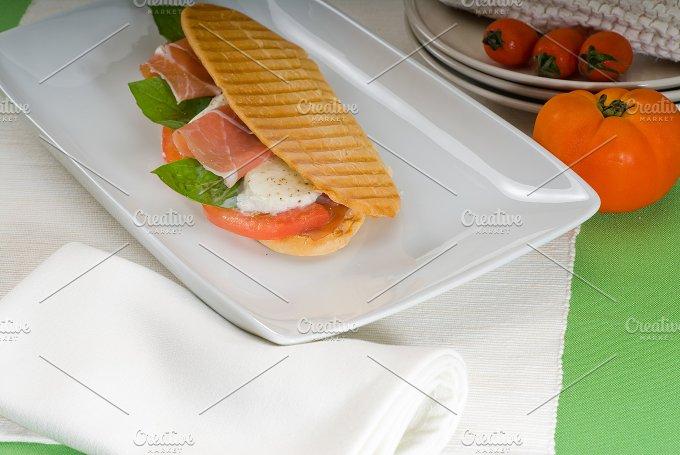 panini caprese and parma ham 14.jpg - Food & Drink