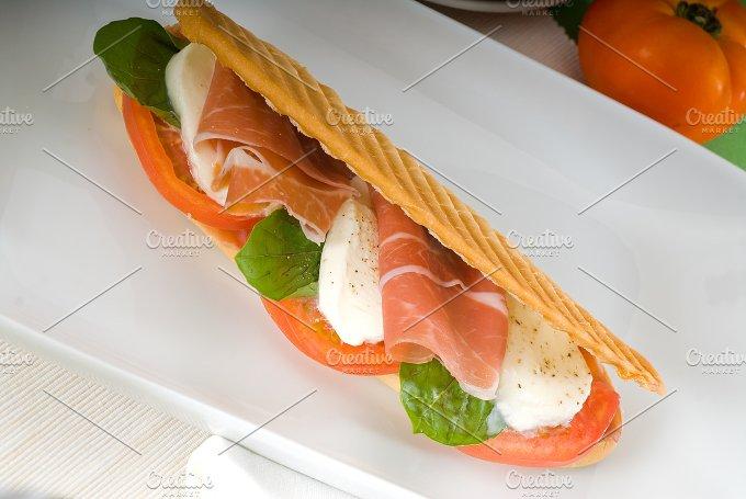 panini caprese and parma ham 20.jpg - Food & Drink