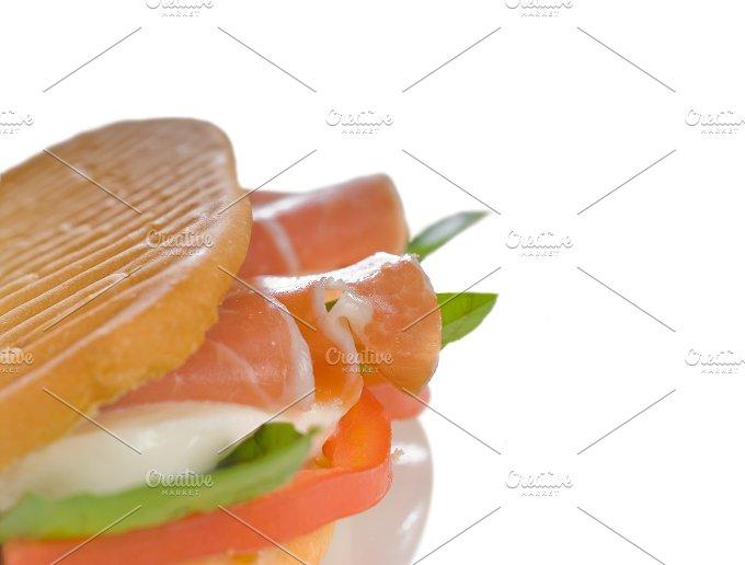 panini caprese and parma ham 21.jpg - Food & Drink