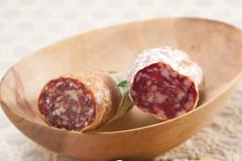 organic salame and pickles with pita bread 14.jpg