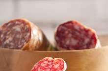 organic salame and pickles with pita bread 17.jpg