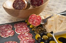 organic salame and pickles with pita bread 20.jpg
