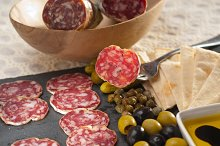 organic salame and pickles with pita bread 21.jpg