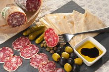 organic salame and pickles with pita bread 25.jpg