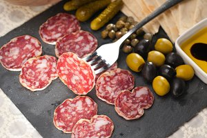 organic salame and pickles with pita bread 26.jpg