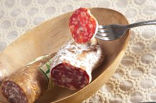 organic salame and pickles with pita bread 29.jpg