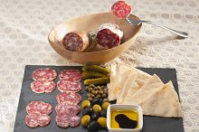 organic salame and pickles with pita bread 30.jpg
