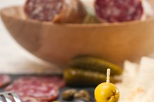 organic salame and pickles with pita bread 33.jpg